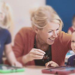 De vrije oogst van een 'gelukkige leerkracht'
